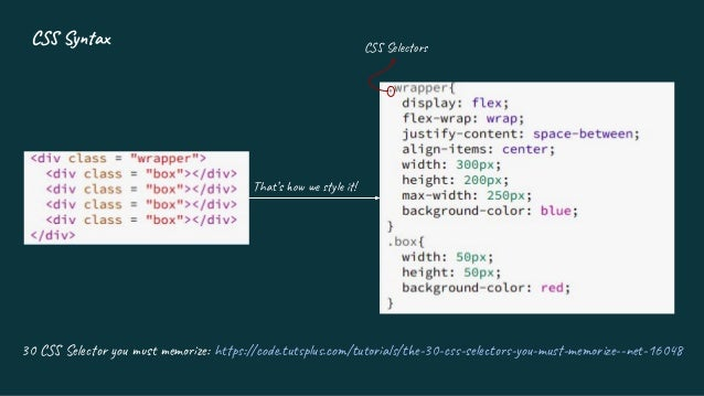 Introduction to CSS3 Slide 3