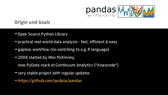 Introduction to Data Analtics with Pandas [PyCon Cz]