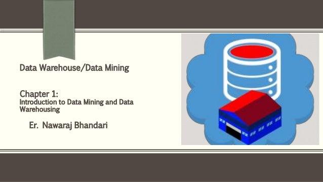 Er. Nawaraj Bhandari Data Warehouse/Data Mining Chapter 1: Introduction to Data Mining and Data Warehousing