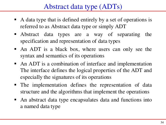 introduction to data structures and algorithm
