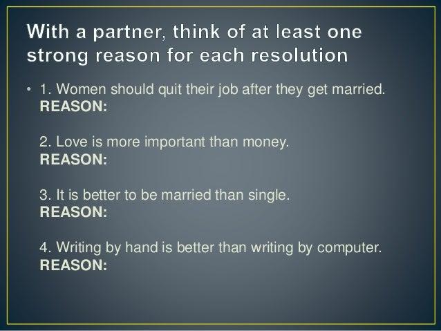 love vs money debate
