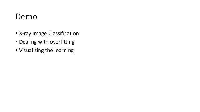 Visualizing the learning