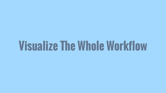 Visualize The Whole Workflow
