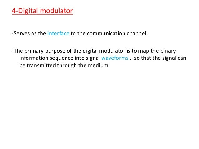 introduction to digital communications Ee 360k: introduction to digital communications communication channels and  their impairments modulation demodulation probability-of-error analysis.