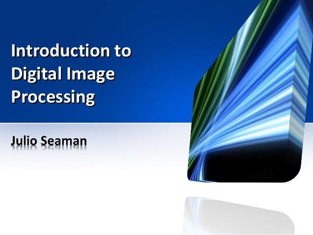 digital image processing solutions