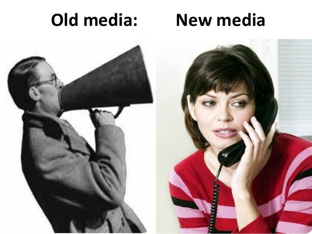 Social media is conversational