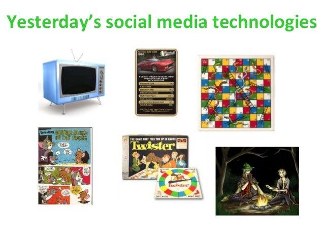 Yesterday's social media technologies