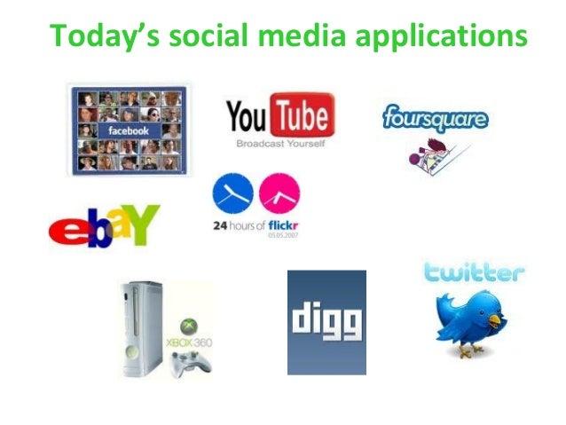 Today's social media applications