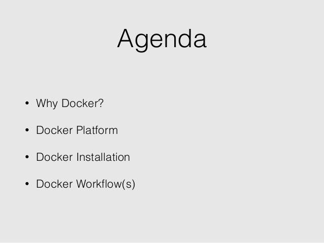 Docker 101: Introduction to Docker Slide 3