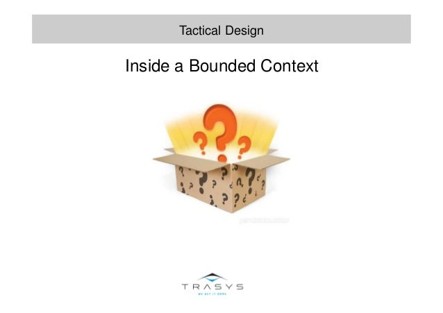 Inside a Bounded Context Tactical Design