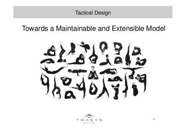 42 Tactical Design Towards a Maintainable and Extensible Model