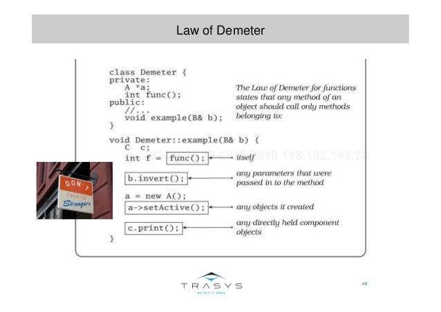 48 Law of Demeter