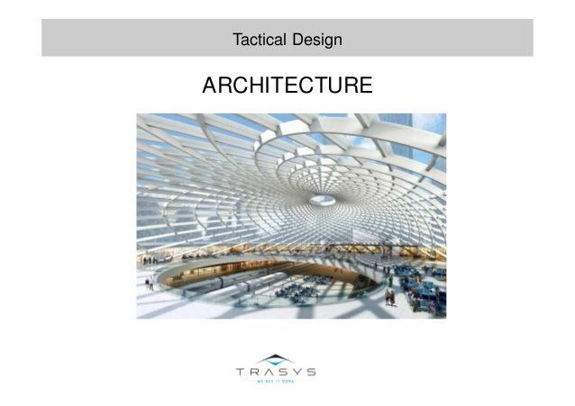 ARCHITECTURE Tactical Design