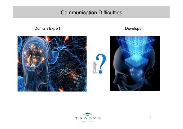 7 Communication Difficulties Domain Expert Developer