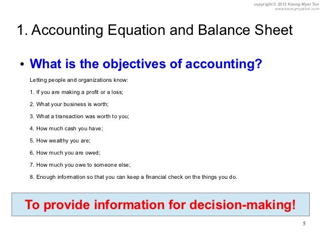 introduction to double entry bookkeeping ofp