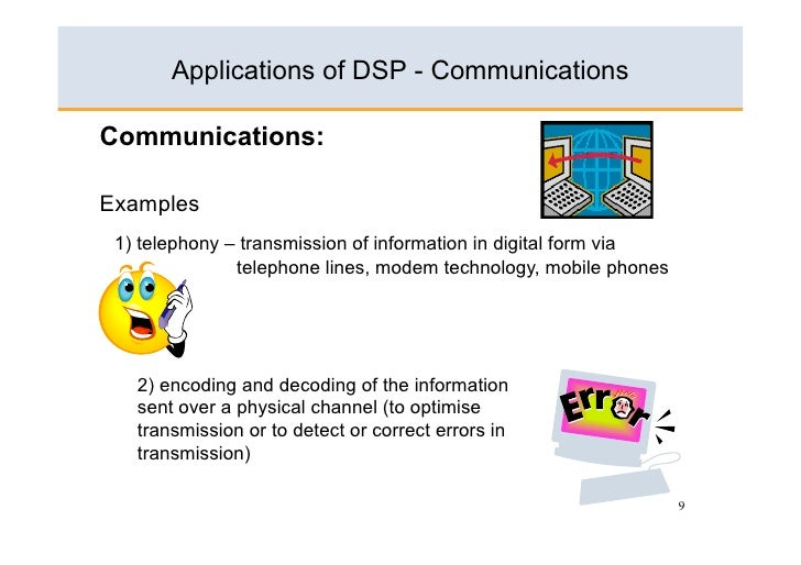 application of dsp in biomedical engineering ppt