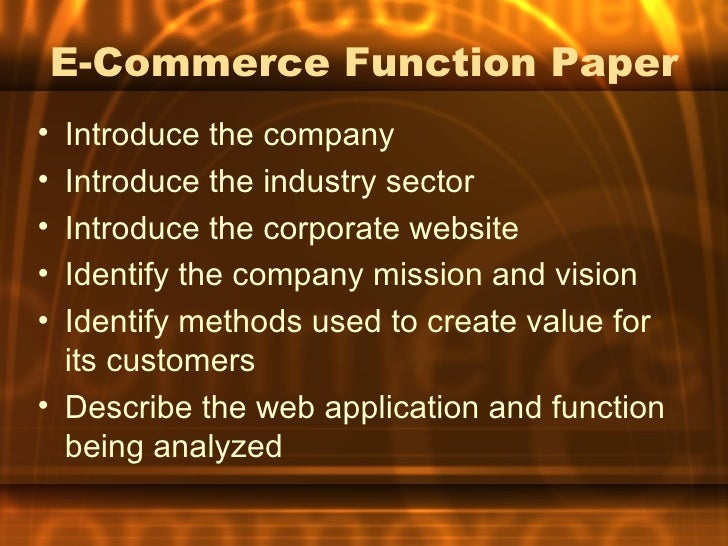 an overview of the methods and benefits of electronic commerce 14 electronic commerce the trans-pacific partnership chapter overview benefit both businesses and consumers.