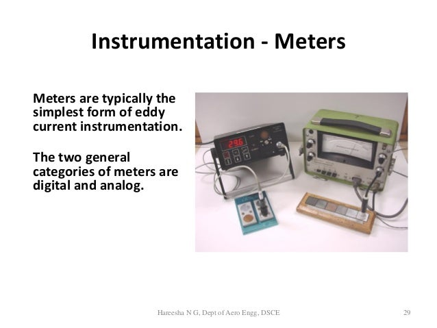 Eddy Current Analog : Introduction to eddy current inspection