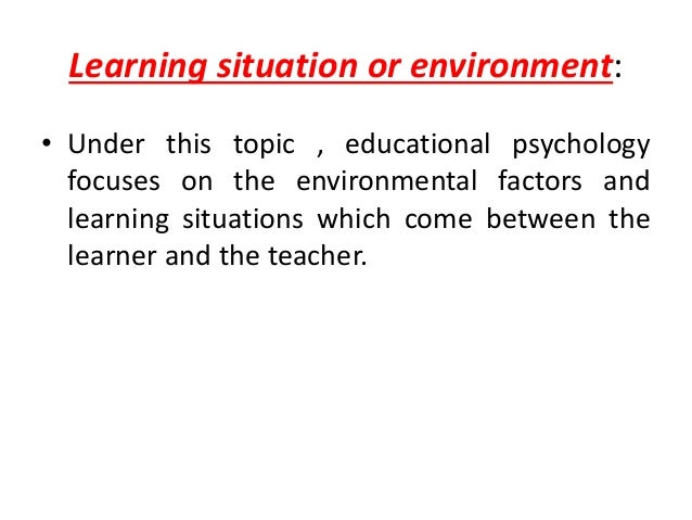 educational psychology 14 essay Educational psychology educational psychology essay sample pages: 5 get access to this section to get all help you need with your essay and educational issues.