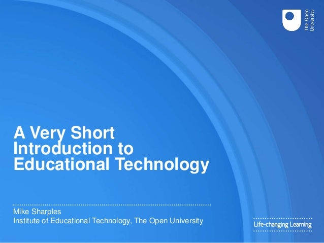 introduction of thesis about technology