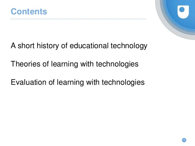 Introduction to educational technology Slide 3