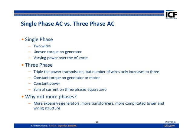 Introduction to electrical engineering for 3 phase vs single phase motor
