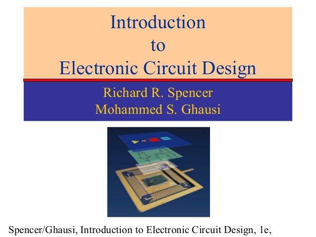 introduction to electronic circuit design modelIntroduction To Electronic Circuit Design Spencer #2