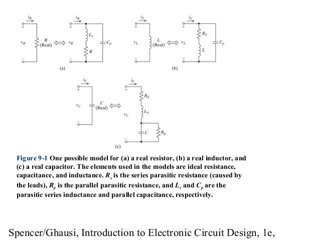 introduction to electronic circuit design modelintroduction to electronic circuit design richard r spencer mohammed s ghausi; 2 spencer ghausi