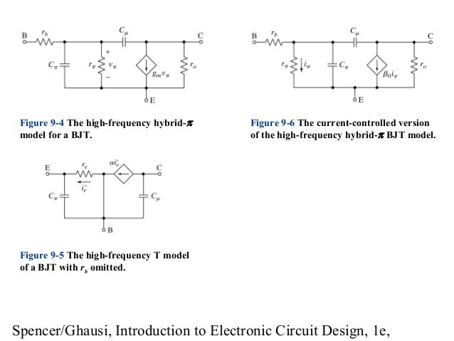 introduction to electronic circuit design model