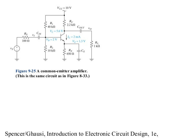 introduction to electronic circuit design model8 spencer ghausi, introduction to electronic circuit design