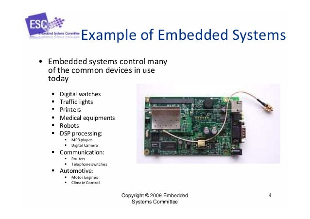 What is an embedded system? Quora.