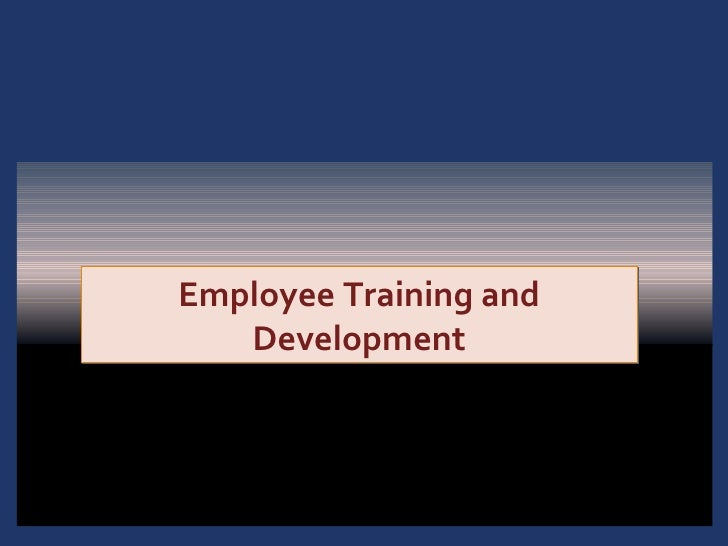 training and development 1 Human resource management regards training and development as a function concerned with organizational activity aimed at bettering the job.