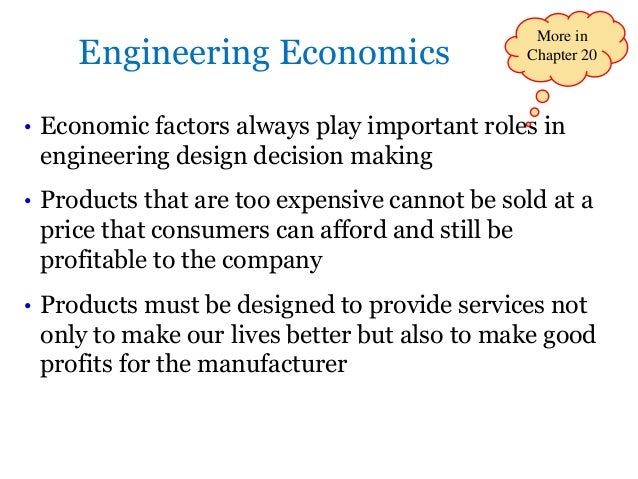 Engineering Economics And Economic Design For Process Engineers