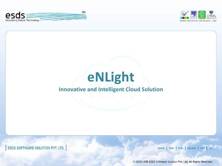 eNLightInnovative and Intelligent Cloud Solution