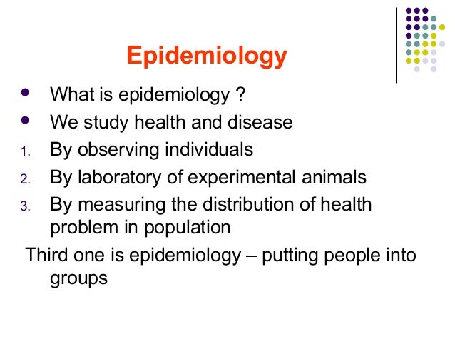 introduction to epidemiology, Human Body