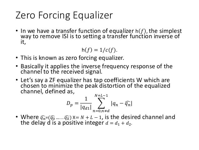 Introduction to equalizationSlideShare