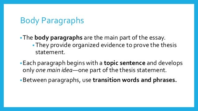 5 main parts of an essay Components of a good essay the main parts (or sections) to an essay are the intro  standard short essay, five paragraphs can provide the reader with enough.