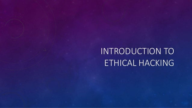 intro to ethical hacking oceans 11 show essay Time stamps 01:01 introduction to ethical hacking 09:02 prerequisites for this course 16:31 basic terminology: white hat, gray hat, black hat 28:31 basic terminology: sql injections, vpn, proxy, vps, and keyloggers 46:49 virtualbox installation 55:48 virtualbox installation through the repositories 1:10.
