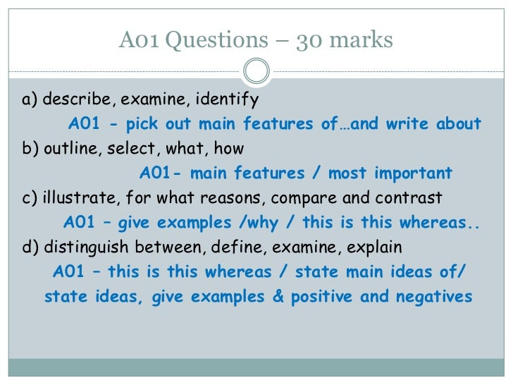 a01 knowledge and understanding of the As lit a01 help sheet 1 ao1  band 4 a) confident knowledge and understanding b) fluent and well informed use of appropriateterminology c).