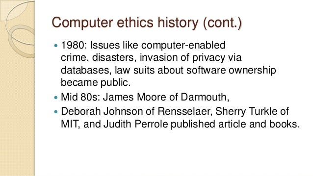 computer ethics privacy This report is a study of computer ethics and its relevance to computer ethics and impact of society information technology essay in the areas of privacy and.
