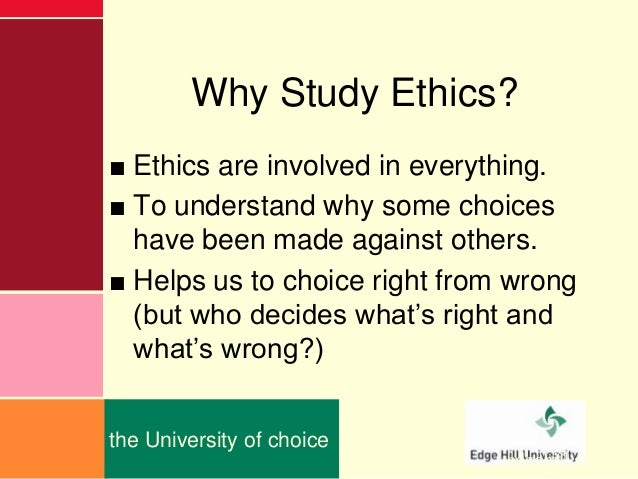 introduction to ethics An article on the importance of business ethics to you,  for a quick 30-minute introduction to business ethics for everyone, try this short course in.