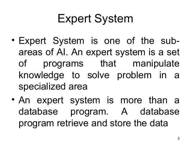 an introduction to expert systems essay Introduction to artificial intelligence and expert systems:  a class of computer  programs are known as expert systems that aim to mimic human reasoning   custom writing help write my essay write my paper paper writing service.