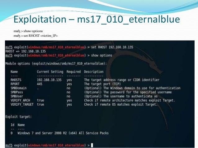Introduction To Exploitation & Metasploit