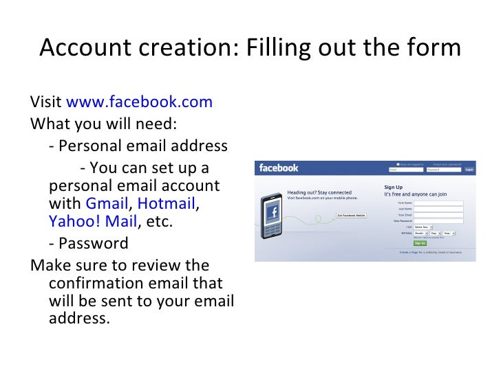 yahoo mail facebook com