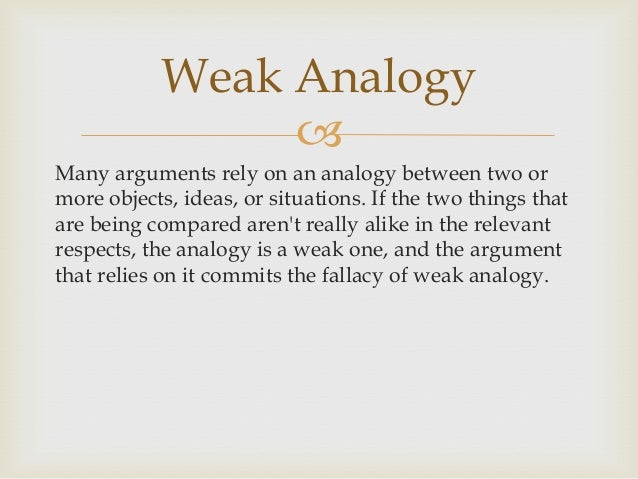 Introduction To Fallacies