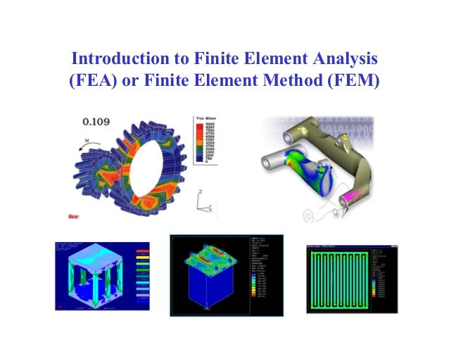 Introduction to finite element analysis for Finite element methode
