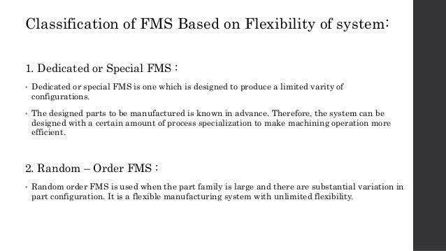 flexible management system ppt