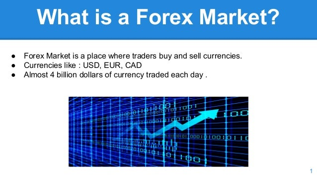 How do forex markets work