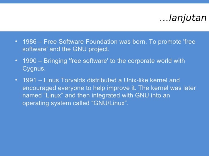 Introduction to the Linux Operating System