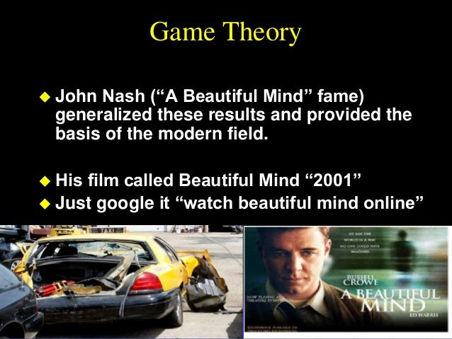 essays on game theory nash Essays on game theory is a unique collection of seven of john nash's essays which highlight his pioneering contribution to game theory in economics.